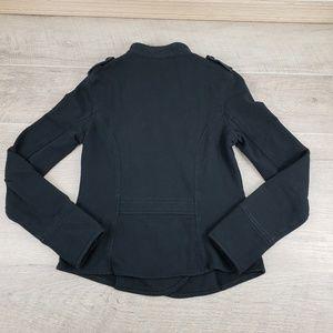 Express Jackets & Coats - Express Black Stretch Fleece Lined Blazer Jacket